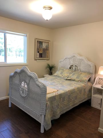 2nd Bedroom with a full bed.