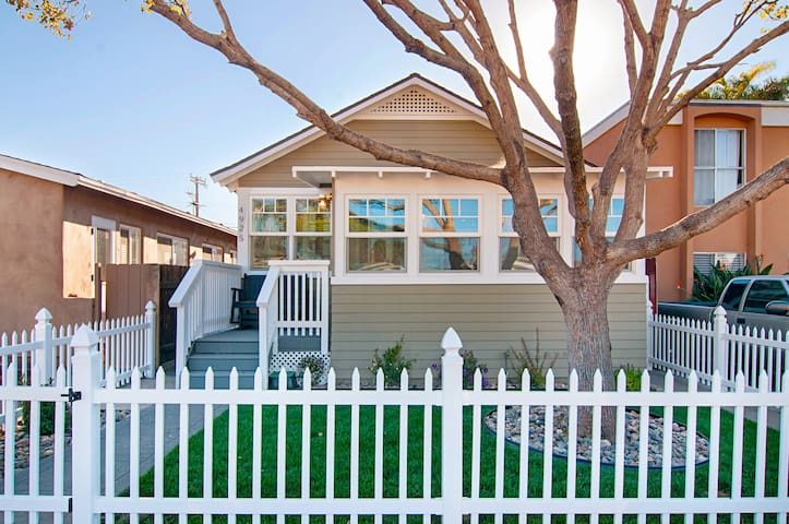 New Ocean Beach Cottage - San Diego - Casa
