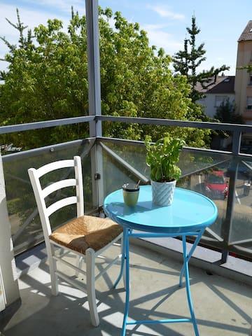 COMME CHEZ VOUS + PARKING GRATUIT - Longeville-lès-Metz - 아파트