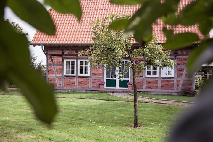 Fachwerk Ferienhaus auf dem Land