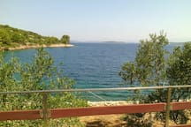 Bay Tanko, Mala Rava, Adriatic coast, Croatia