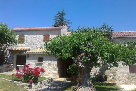 Authentic Stonebuilt Istrian house - Zrenj
