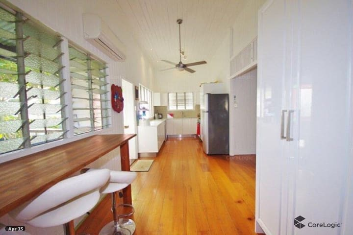 Stay in this stunning Queenslander family home