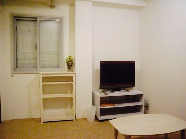 (studio) only 2 stops (3 min) from HND INT'L Sta.