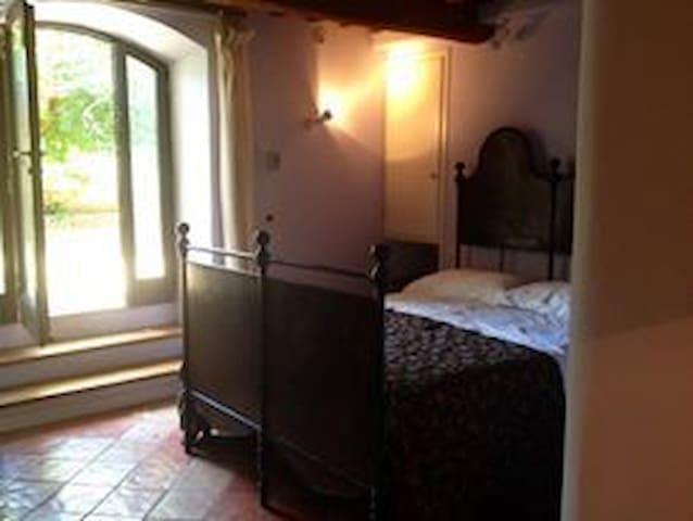 Miniappartamento centrale  con  giardino storico