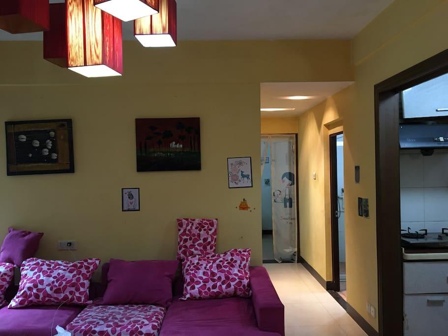 新客厅,装饰下