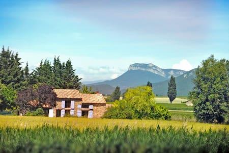 jolie maison au milieu des champs - La Bégude-de-Mazenc