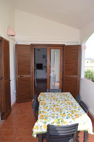 Balcone con veranda