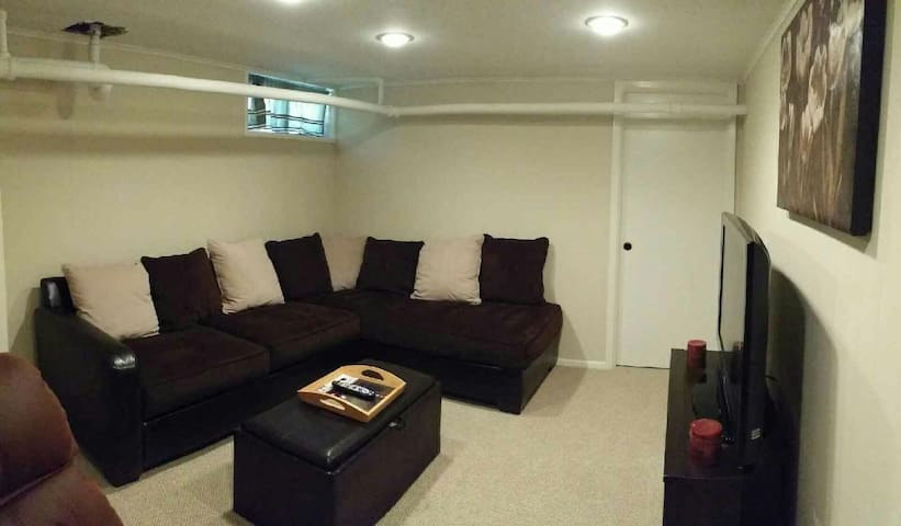 Cozy private apt. 1hr from NYC! - Huntington Station - Leilighet