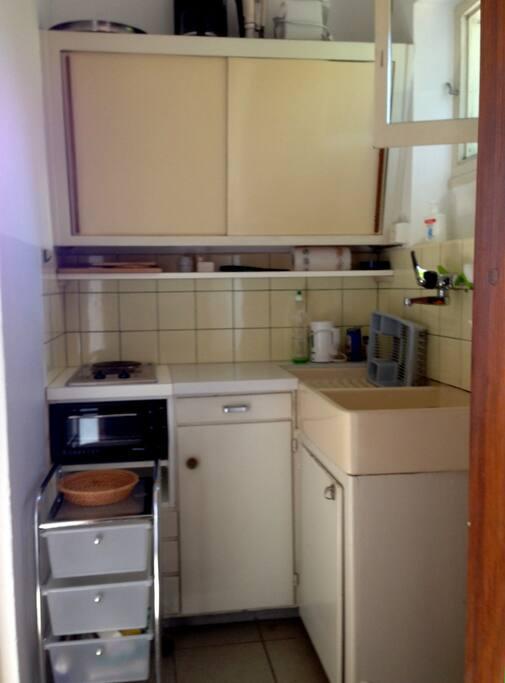 Küchennische (untere Wohnung).