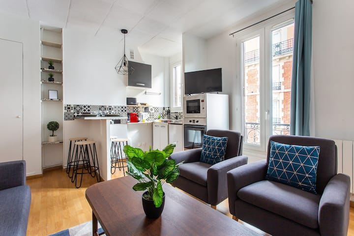 Cosy apartment 4P/1BR- Levallois