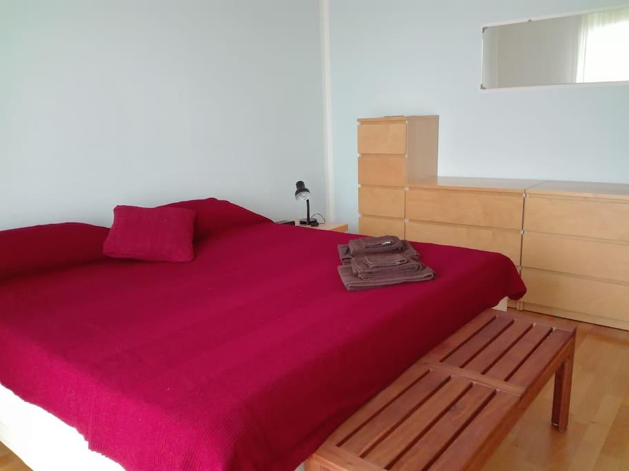 Camera con letto matrimoniale appartamenti in affitto a for Camera matrimoniale con planimetrie del salotto