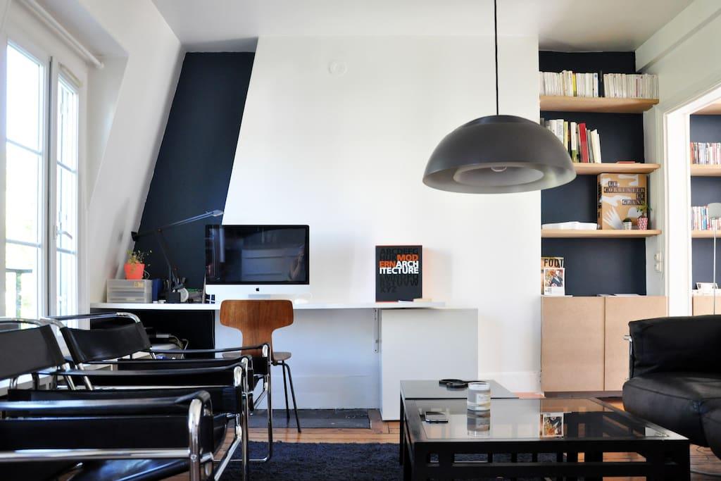 Appartement 2pieces design bastille appartements louer for Appartement 40m2 design