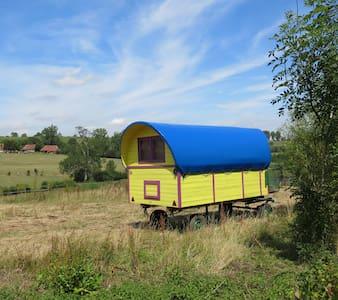 la roulotte à I.C.Art - Fontaine en Bray