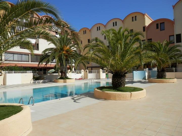 La Brigantine - appartement avec piscine proche plage