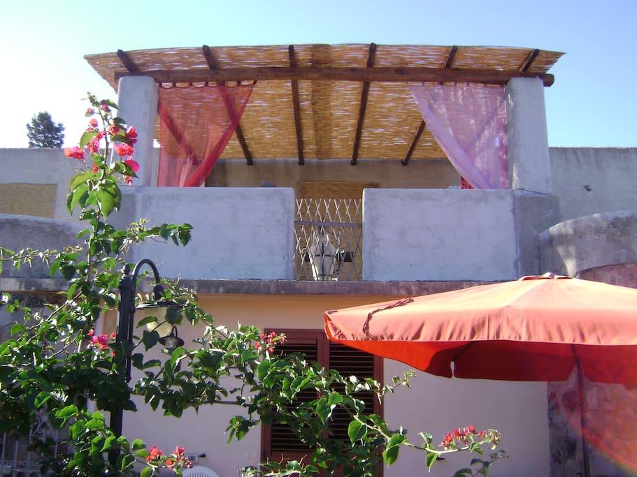 terrazza panoramica in comune - shared terrace