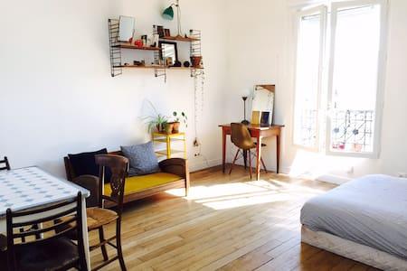 + Joli studio typique et lumineux +