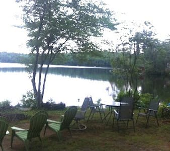 Waterfront Camp on Ayers Lake - Barrington - Rumah