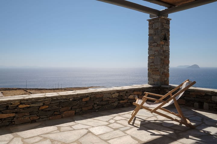 Avra House - Endless alluring Aegean view