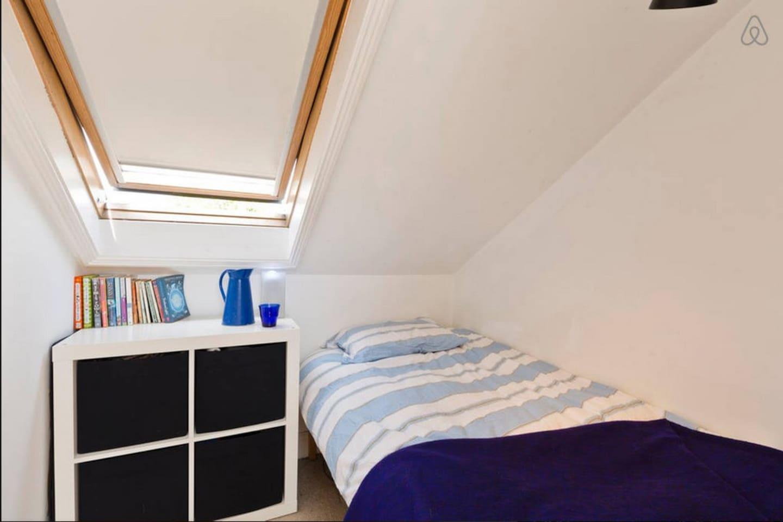 Bright sunny single room
