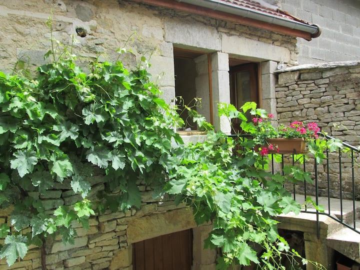 Maison en pierre bourguignonne