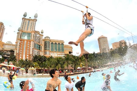 1-3 PAX* Deluxe C* 5 mins to Sunway Pyramid Lagoon
