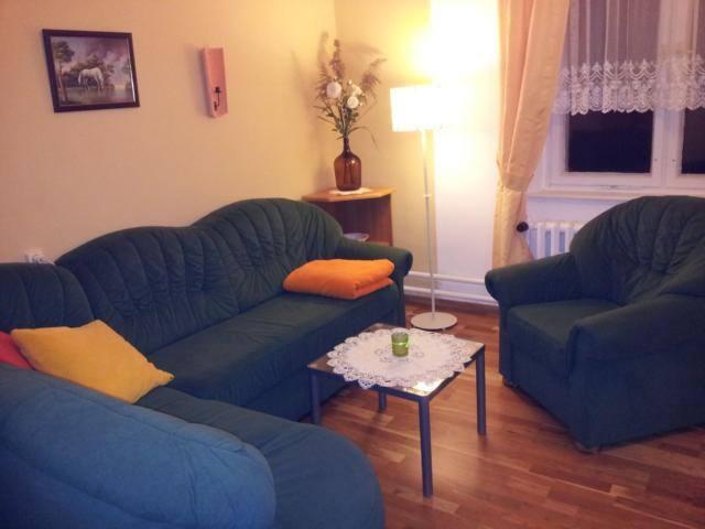 Wohnschlafraum mit auziehbaren Sofa