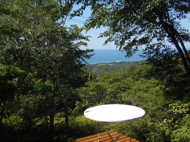 海が見える山の上の小さな山荘 - 日本, 高知県安芸郡 - Casa