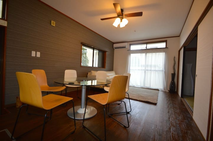 Luxury Renovated Charter LargeHouse - Takasaki-shi