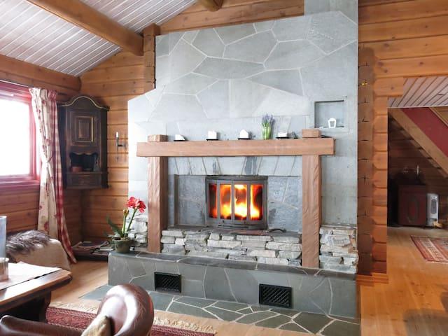 Bonderomantisk hytte Hallingskarvet - Hol - Kulübe