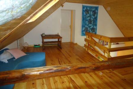 La mezzanine bleue - Châteauroux-les-Alpes - Casa