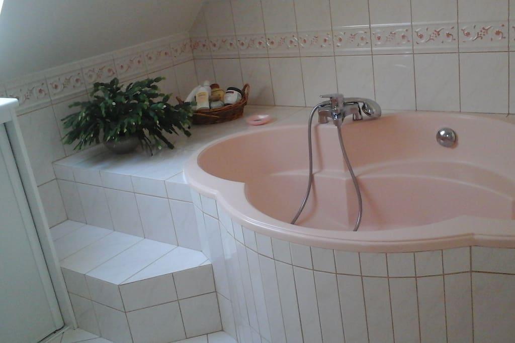 Le bain partagé
