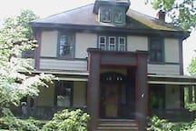Our historic 1902 Roycroft home