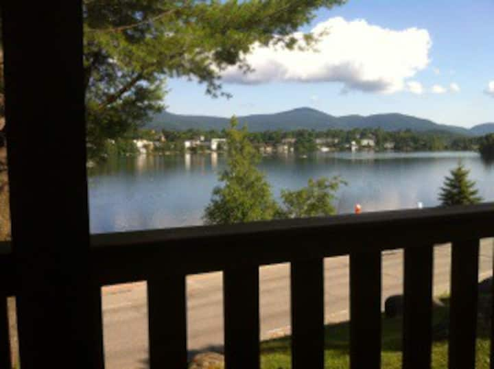 Lake Placid lake front property.