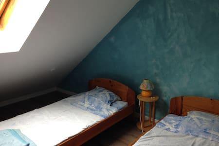 bina chambre bleue - Gièvres - Huis