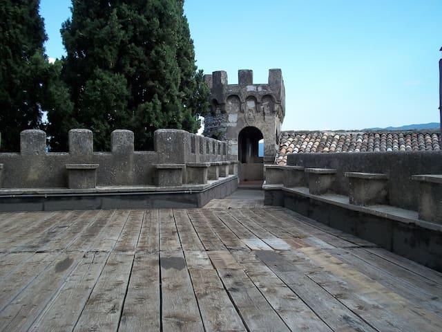 La torre del castello Nobili Vitelleschi