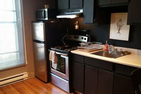 Cozy full furnished studio in the Plateau Mt Royal - Appartement