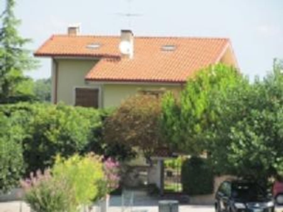 Villa Mimosa - ingresso