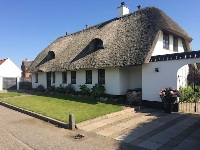 Idyllisk og moderne indrettet stråtækt hus - Silkeborg - House