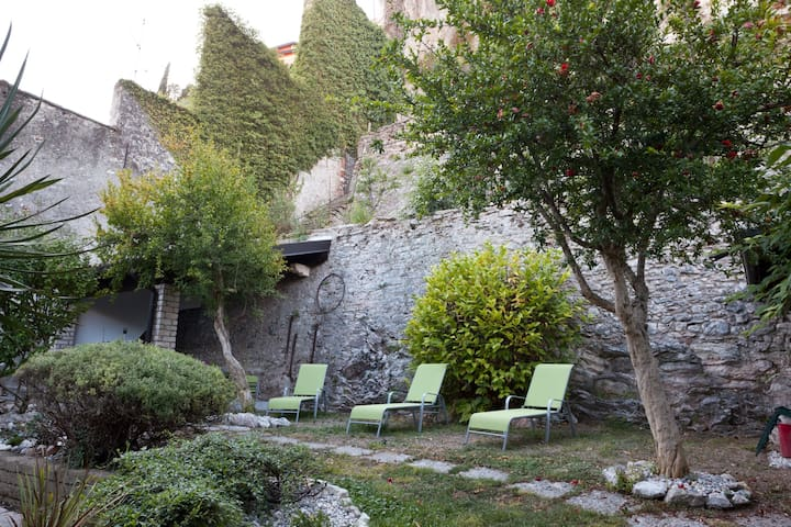 il giardino interno per il relax
