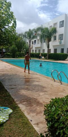 Appartement a proximité de la plage skhirat