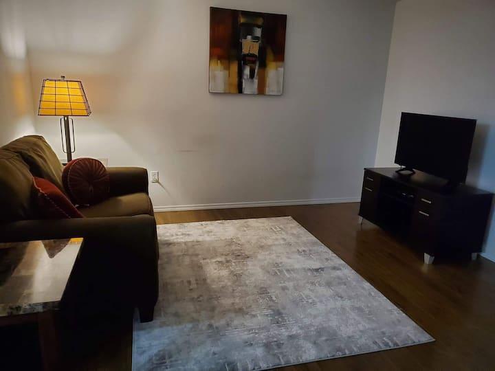 Comfortable 1 bedroom suite