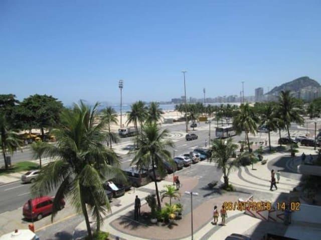 Quarto Av. Atlantica Copacabana frontal mar - Rio de Janeiro - Appartement