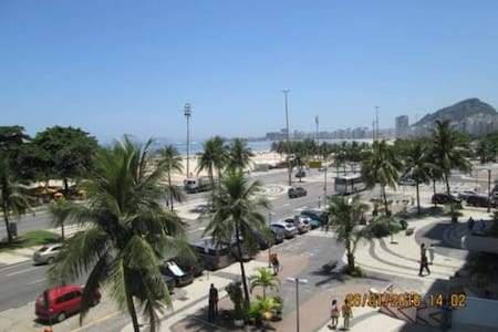 Quarto Av. Atlantica Copacabana frontal mar - リオデジャネイロ - アパート