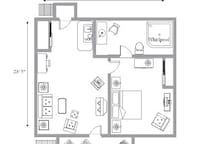 Pebble Floor Plan