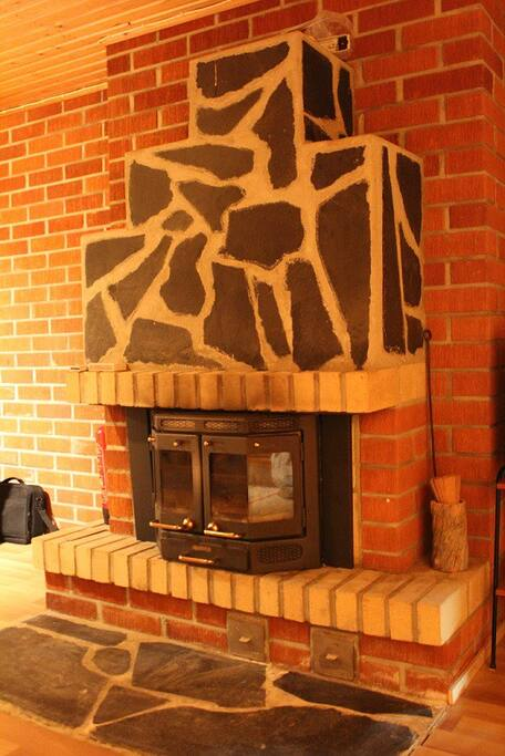 Takka / fireplace