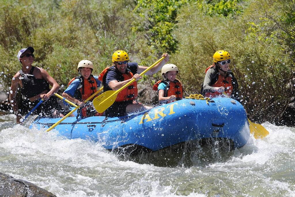 Contact Jimbo ahead of time and we can tailor a Raft or Zipline day! 7 Passenger van for transportation.