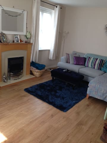 Double in relaxed home - Exeter - Bed & Breakfast