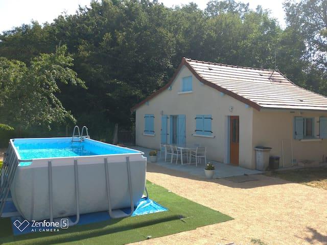 Maison de vacances proche la charité sur Loire