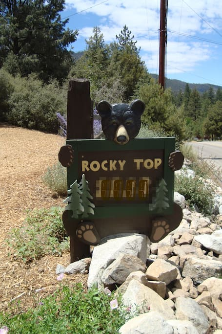 ROCKY TOP LODGE ~ You can't miss it!